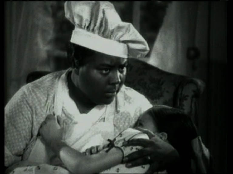 Adrian Piper, Passing Beyond Passing, 2004. Video lecture/screening/discussion, 01:38:27. Video still: Imitation of Life (1934, USA. Director: John M. Stahl).