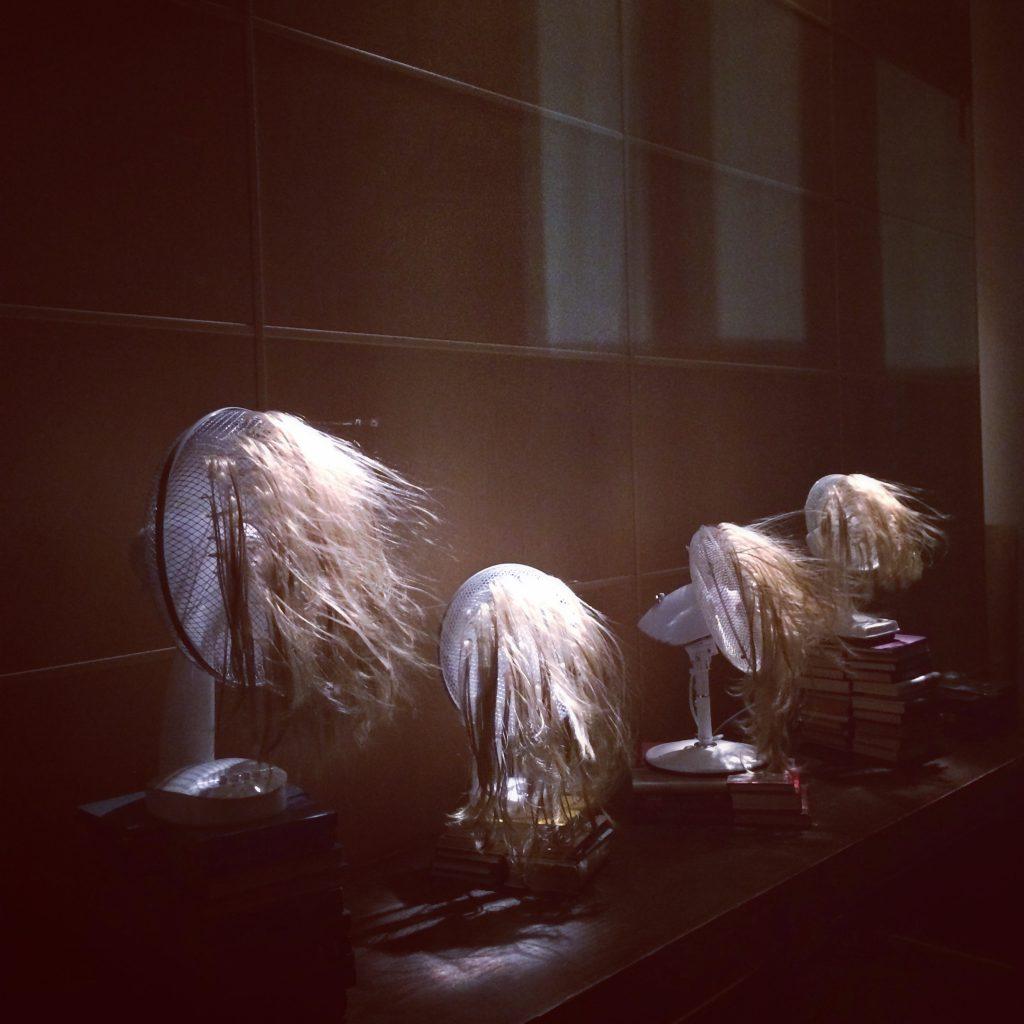 Pop Up Art House. Kaisa Luukkosen toes Blondies (Girls Saying No)
