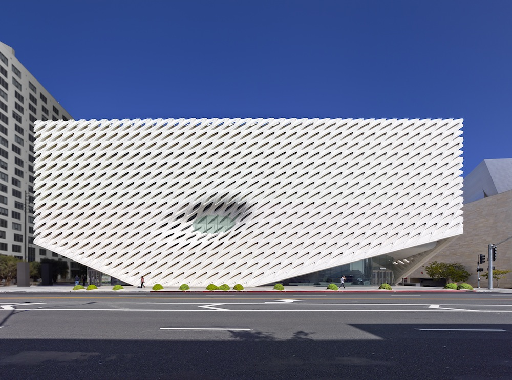 The Broad. Photo by Benny Chan, courtesy of The Broad and Diller Scofidio + Renfro